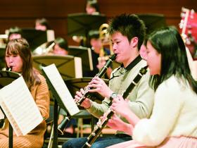 尚美学園大学芸術情報学部 音楽表現学科 管弦打楽器専攻のイメージ