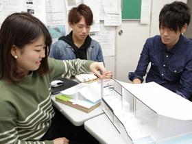 青山製図専門学校建築設計デザイン(建築デザインコース・環境デザインコース)のイメージ