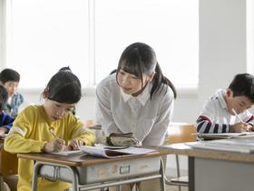 岡崎女子大学子ども教育学部 子ども教育学科 「学校教育コース」(小学校教諭第一種免許状取得をめざす)のイメージ