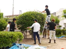 修成建設専門学校{ガーデンデザイン学科のイメージ