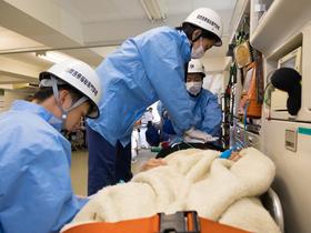 国際医療福祉専門学校{救急救命学科 (救急救命士/消防官)のイメージ