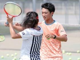 横浜リゾート&スポーツ専門学校{スポーツインストラクター科 テニスコースのイメージ