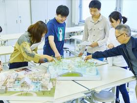 大阪芸術大学附属大阪美術専門学校{総合デザイン学科 インテリアデザインコースのイメージ