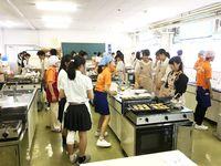 中高生向け各務原にんじん料理教室2019の画像