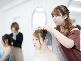 九州美容専門学校{美容科 ブライダルスタイリストコースのイメージ