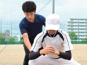 仙台リゾート&スポーツ専門学校{スポーツトレーナー科 野球トレーナーコースのイメージ