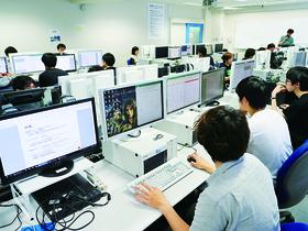北海道情報大学{情報メディア学部 情報メディア学科 メディアデザイン専攻・メディアテクノロジー専攻 Webサイト制作コースのイメージ
