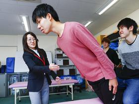 日本ウェルネススポーツ専門学校{アスレティックトレーナー科 アスリートトレーナー専攻のイメージ