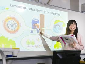 桜美林大学{グローバル・コミュニケーション学群のイメージ