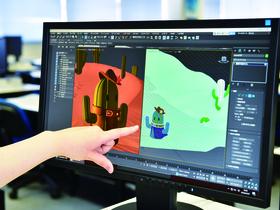 北海道情報大学{情報メディア学部 情報メディア学科 メディアデザイン専攻・メディアテクノロジー専攻 イラストキャラクターデザインコースのイメージ