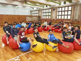 駿河台大学{スポーツ科学部 スポーツ科学科 スポーツ教育モデルのイメージ