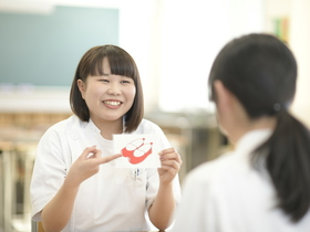 長野医療衛生専門学校{言語聴覚士のイメージ