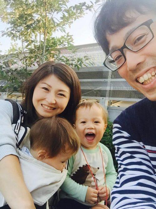 家族写真(ご自身撮影)