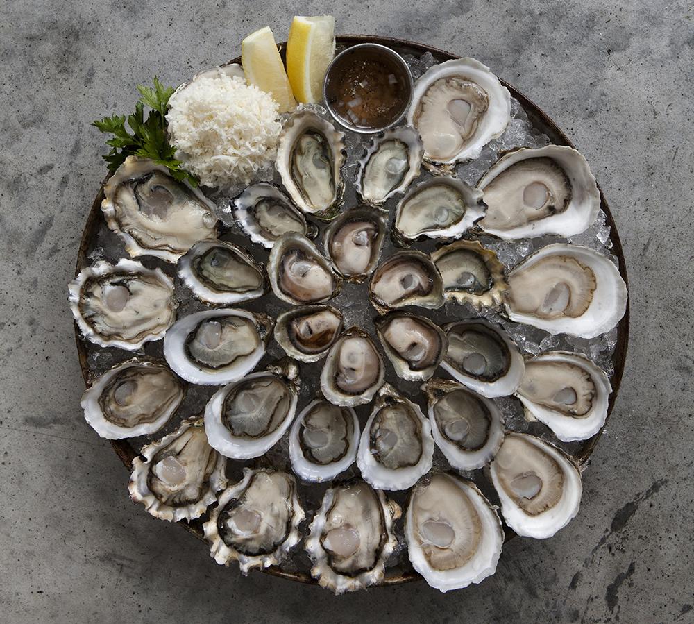 Oyster Platter Vert