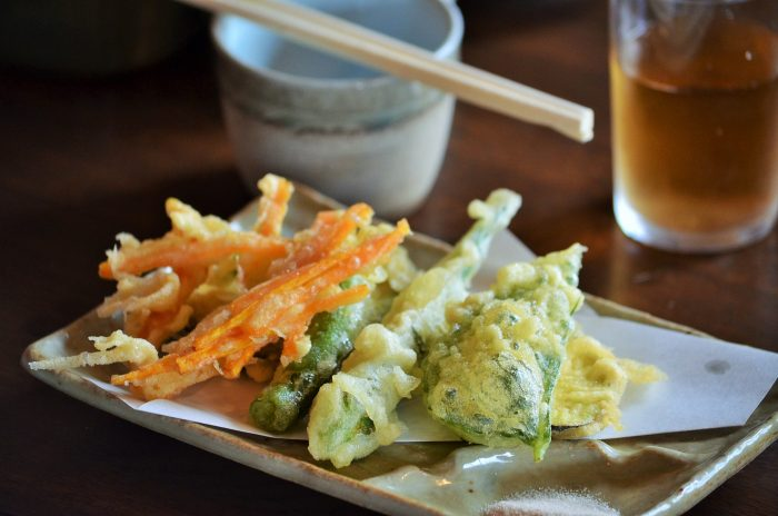 蕎麦屋天ぷら