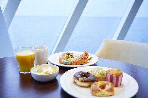 コスタクルーズ朝食