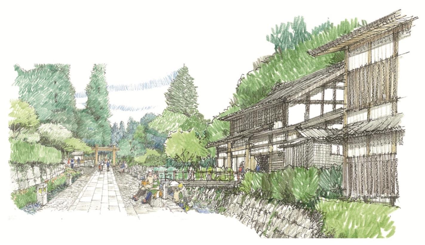 六本木ヒルズで培ったノウハウを活かし、森ビルが「禅の里」のまちづくりをサポート