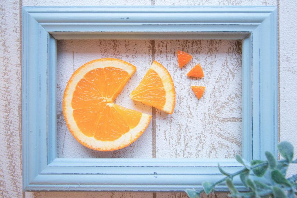 ジューシーでヘルシー☆夏のオレンジリップ大特集の画像
