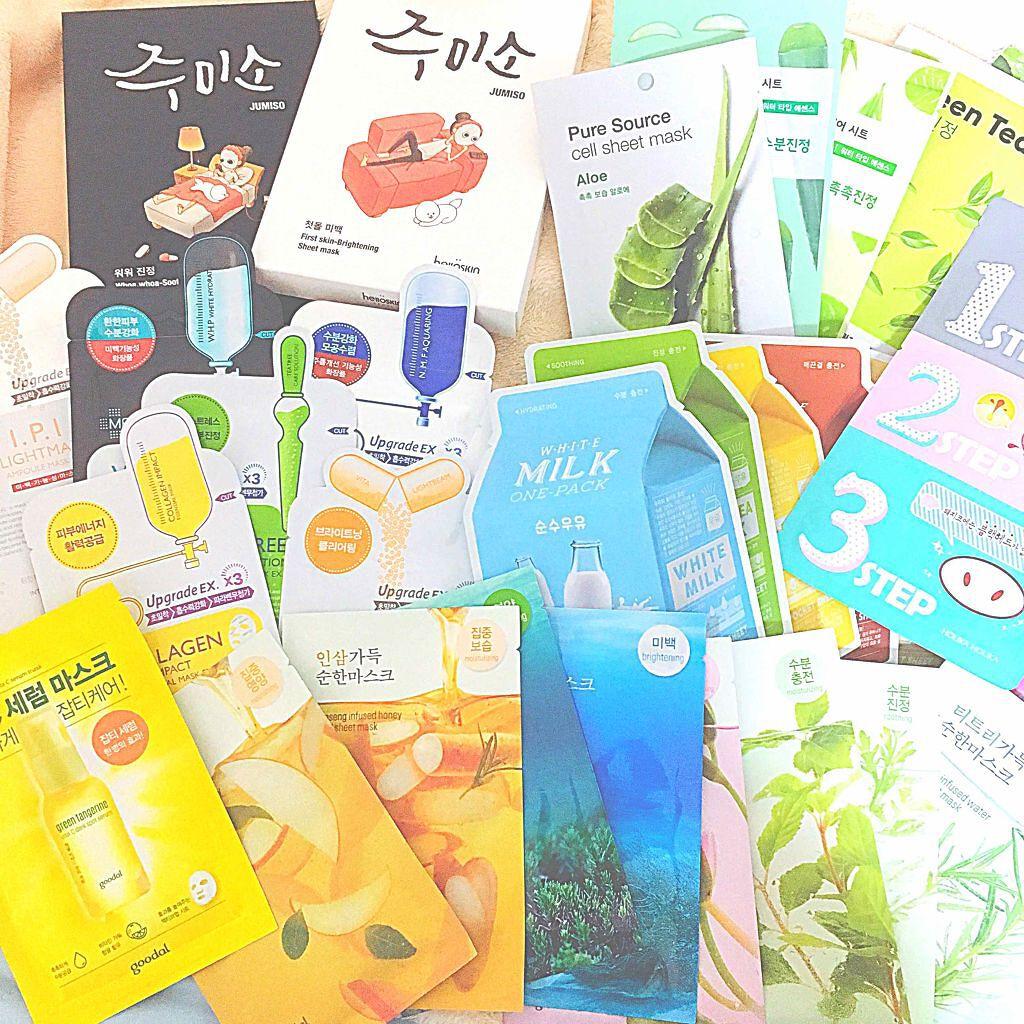 【おすすめ韓国コスメ/パック編】毎日のスキンケアにも、バラマキ土産にも。人気の韓国パックを総まとめ!の画像