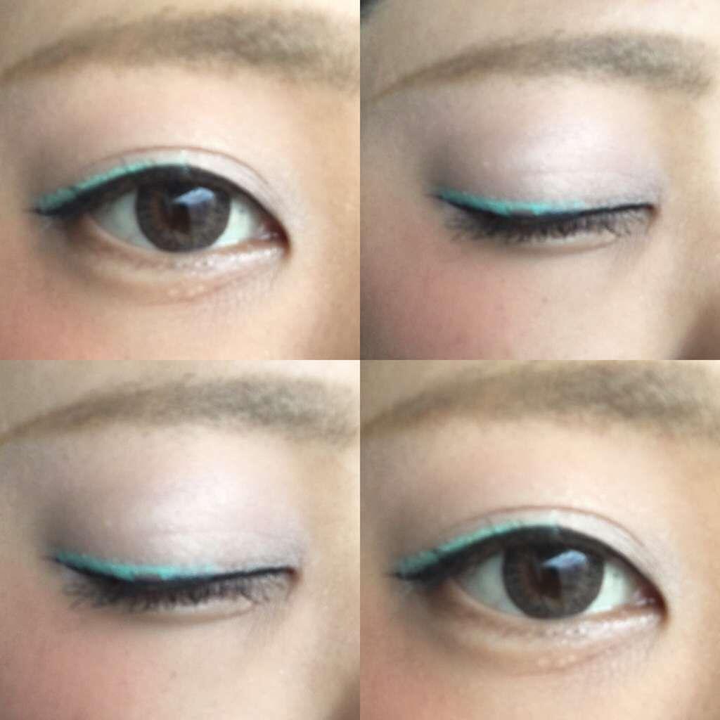 「グリーン×ブラウンでチョコミント配色に♡目元を彩るおすすめグリーンコスメ」の画像(#30492)
