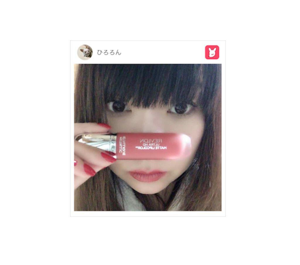 「#ミレニアルピンク レブロン ウルトラ HD マット リップカラー プレゼント♡ 【PR】」の画像(#7057)