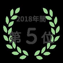 LIPSベストコスメ2018カテゴリ賞 チーク部門 第5位