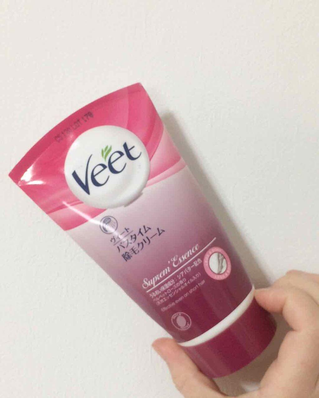 Veet(ヴィート),ヴィート ナチュラルズ バスタイム除毛クリーム しっかり除毛