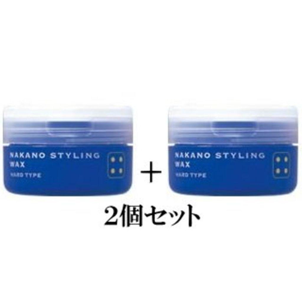 ナカノ スタイリング,スタイリングワックス 4(ハード)