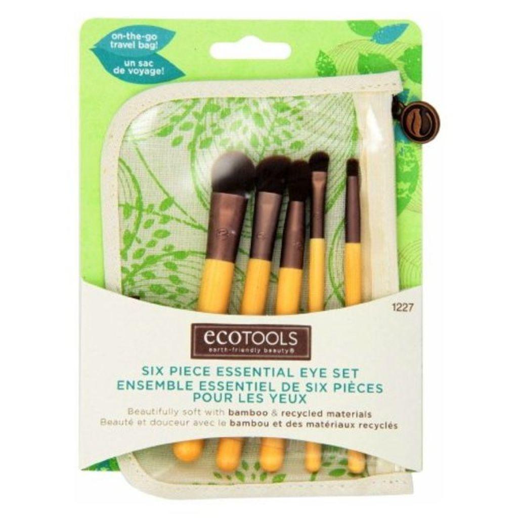EcoTools,BAMBOO 6 Piece Eye Brush Set