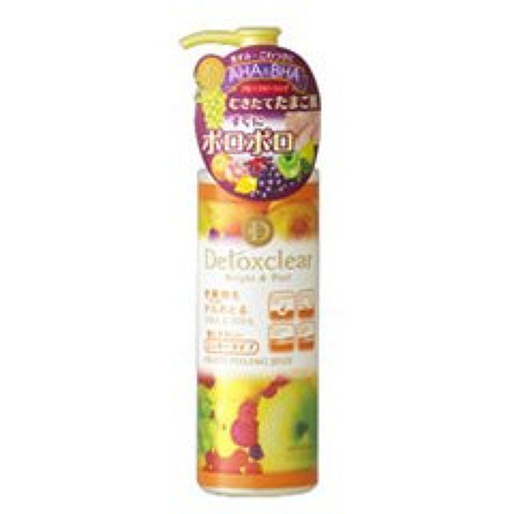 明色化粧品,DETクリア ブライト&ピール ピーリングジェリー<ミックスフルーツの香り>