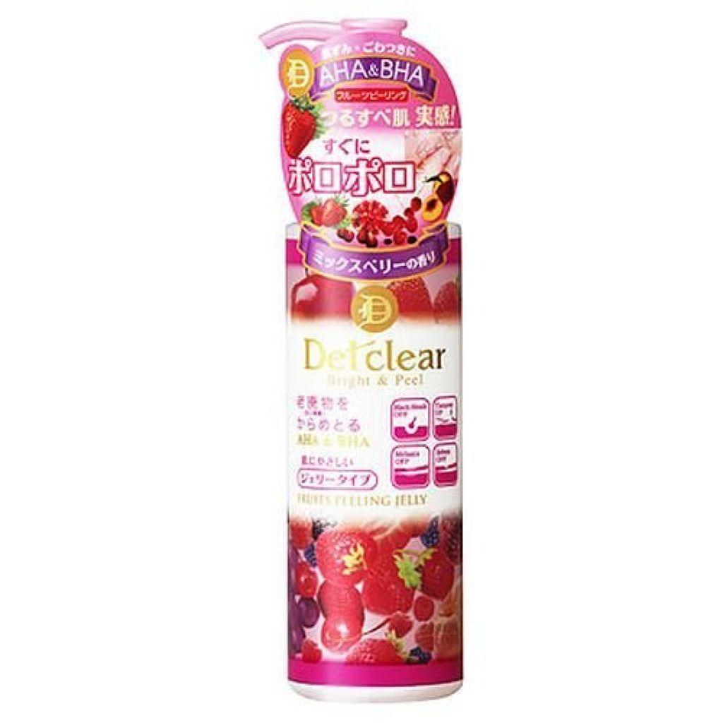 明色化粧品,DETクリア ブライト&ピール ピーリングジェリー <ミックスベリーの香り>