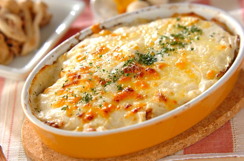【レシピ2♪】とろけるチーズとの相性抜群!じゃがりこグラタン