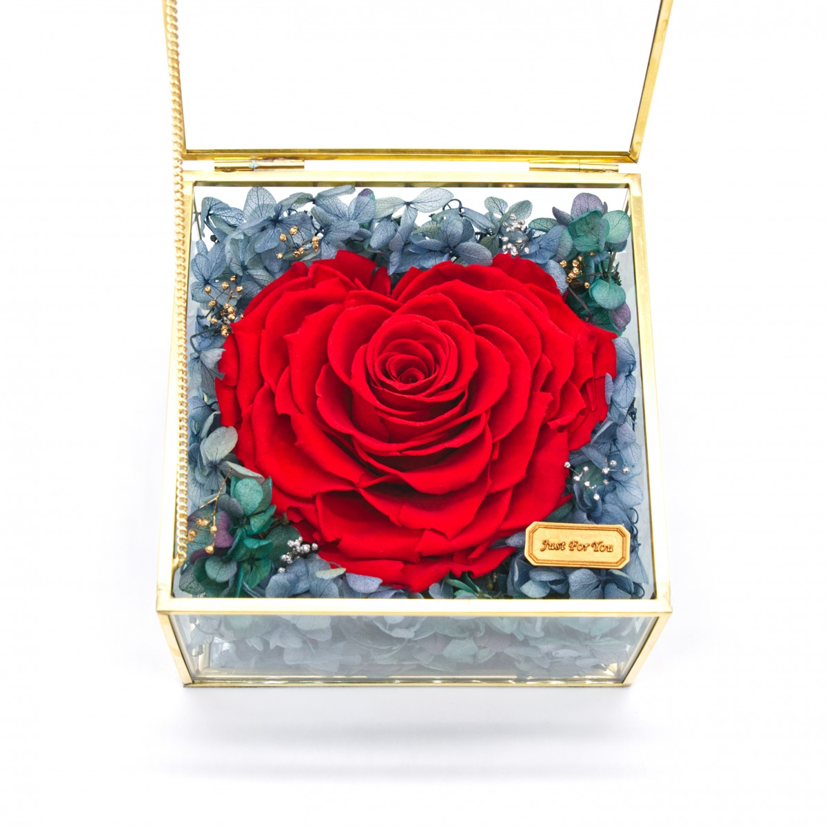 Little Little Box Series • Giant Heart-shaped Rose (Red)