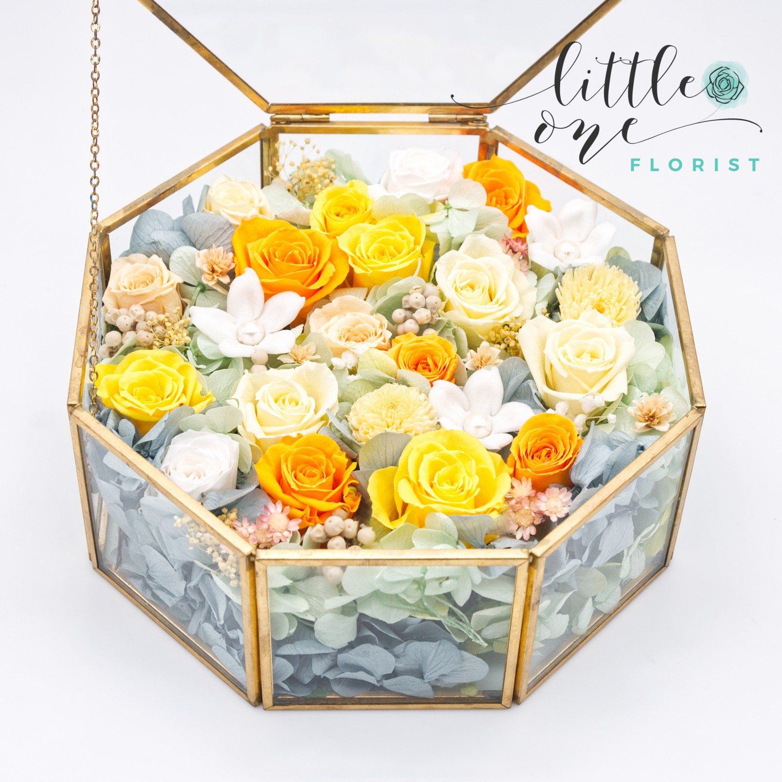 Little Little Box  Series • Summer Fresh Floral Box