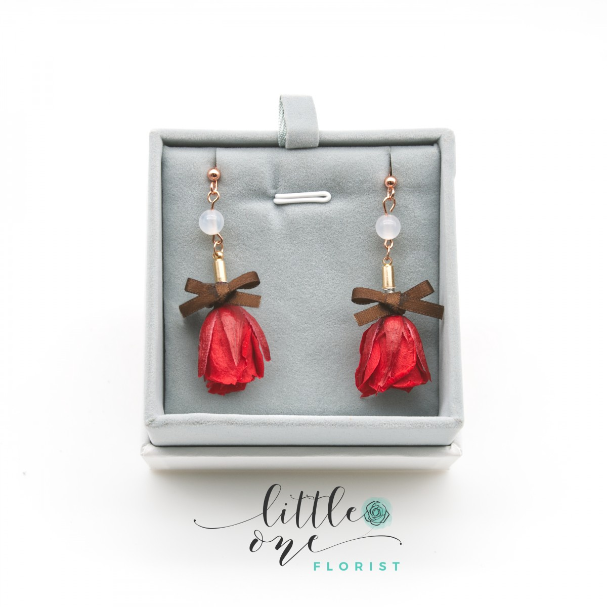 Little Something Series • Preserved Flower Earring