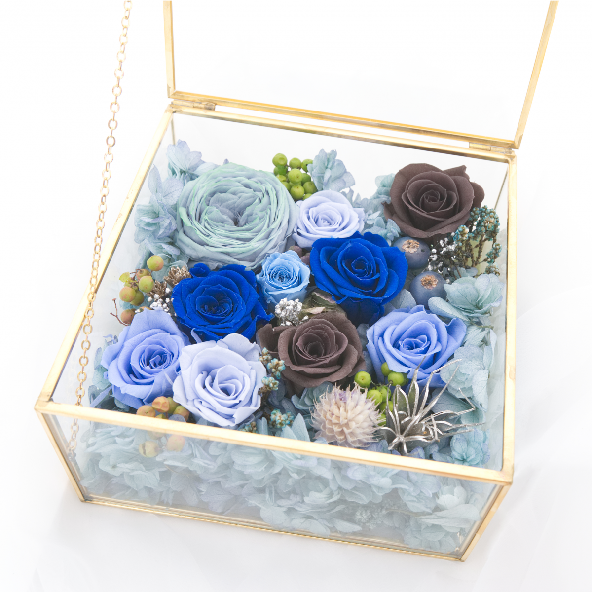 Little Little Box  Series • Square shaped Floral Box