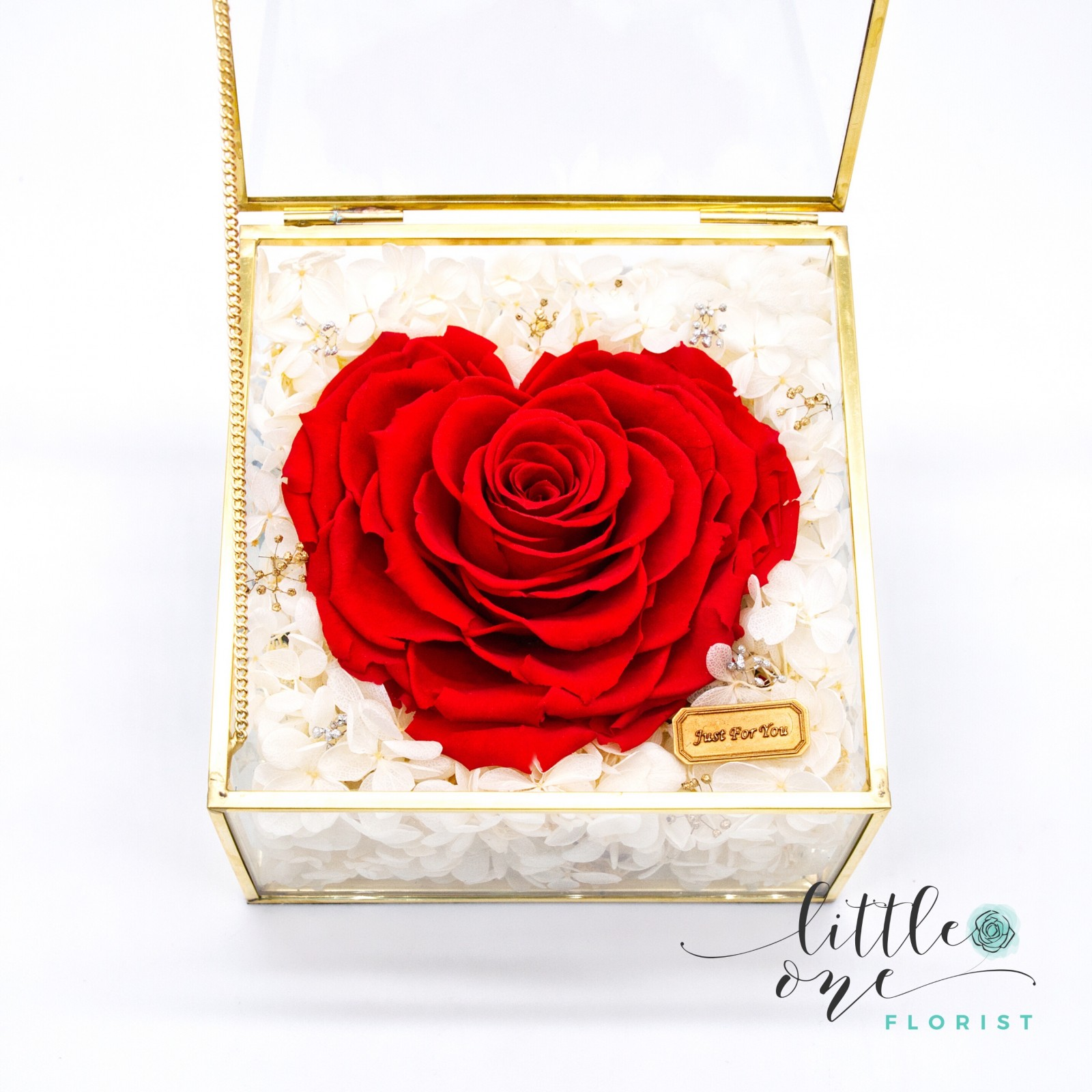 Little Little Box Series • Giant Heart-shaped Rose (Style B)