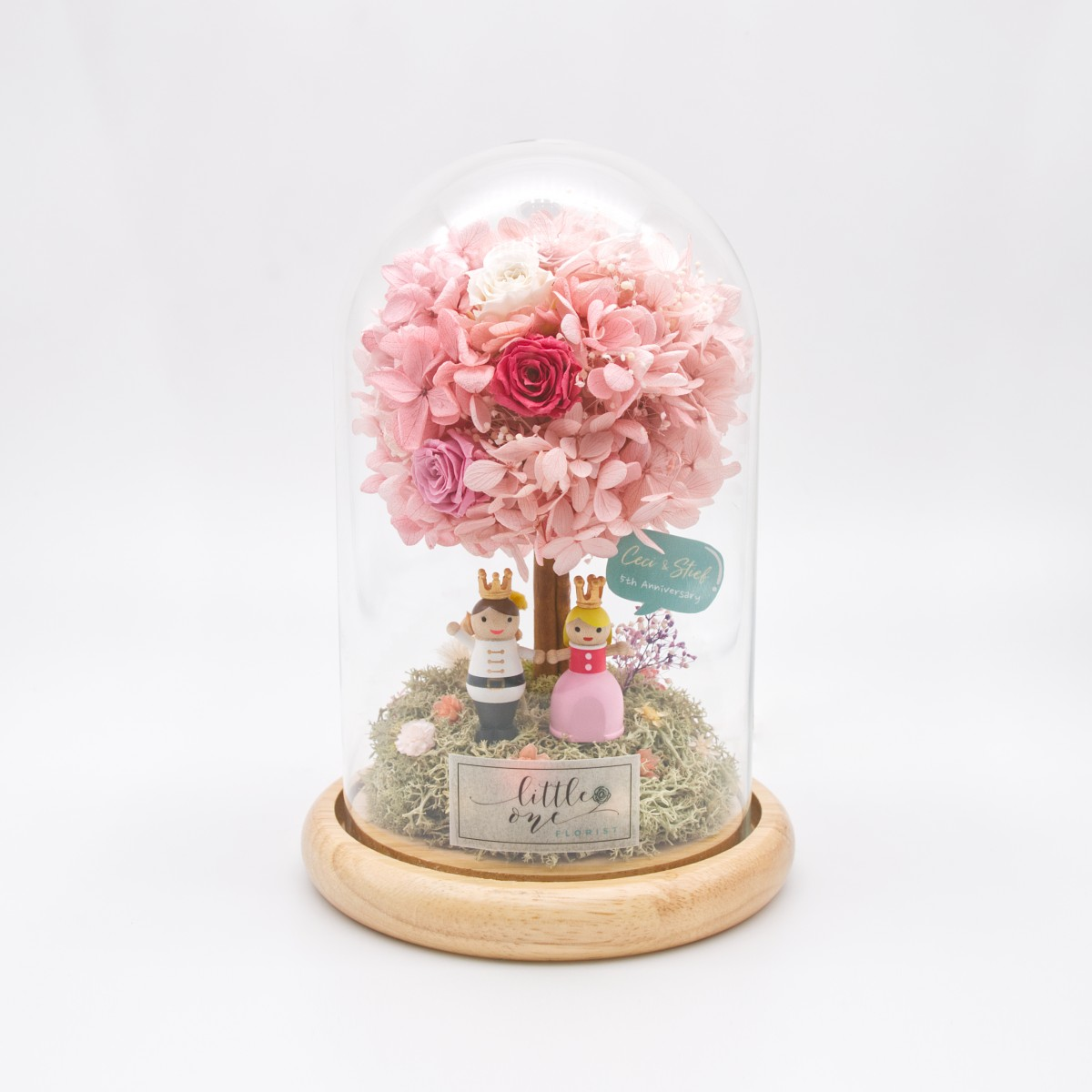 Glowing Little Tree Series - The Prince and Princess Night Lamp