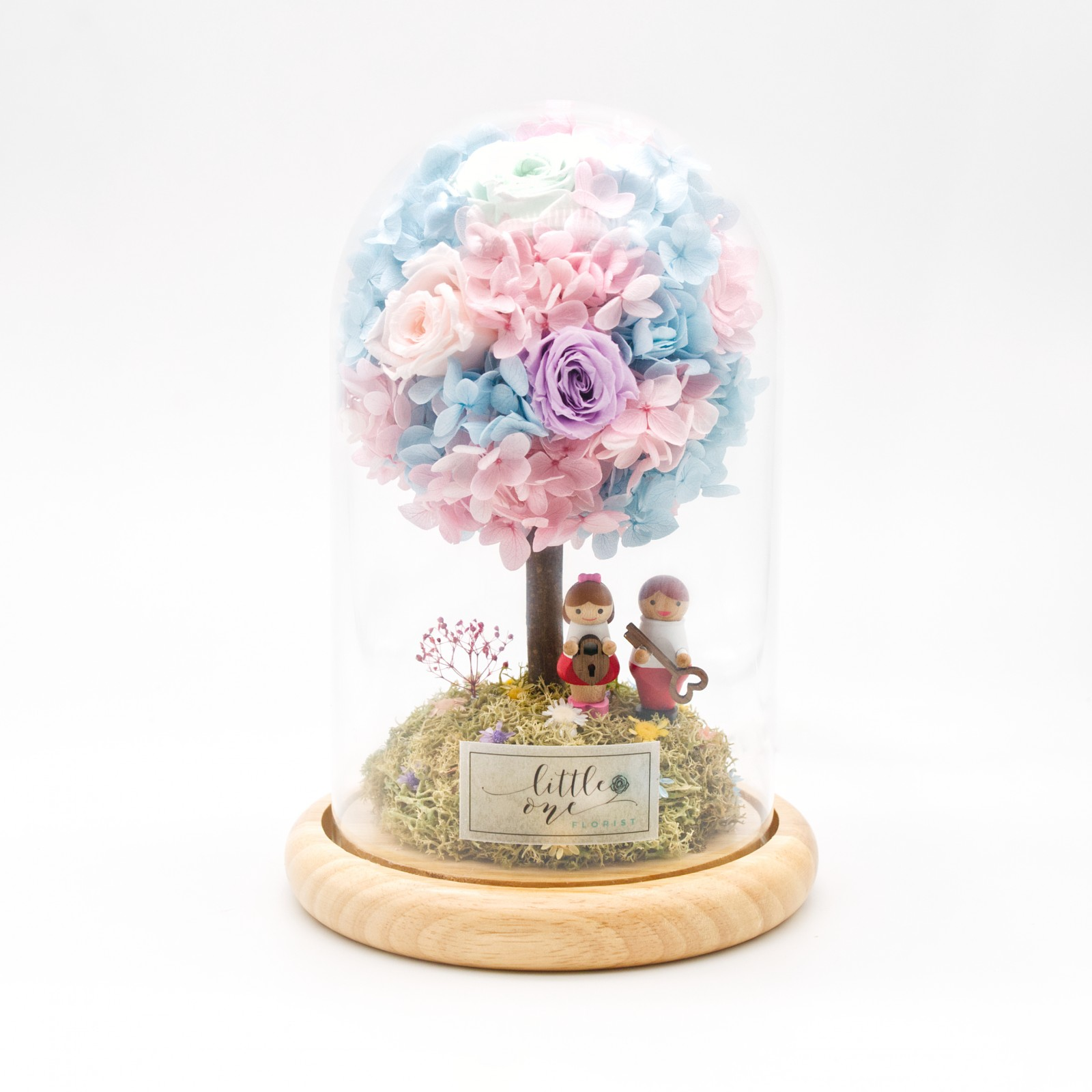 Glowing Little Tree Series - Key to your heart