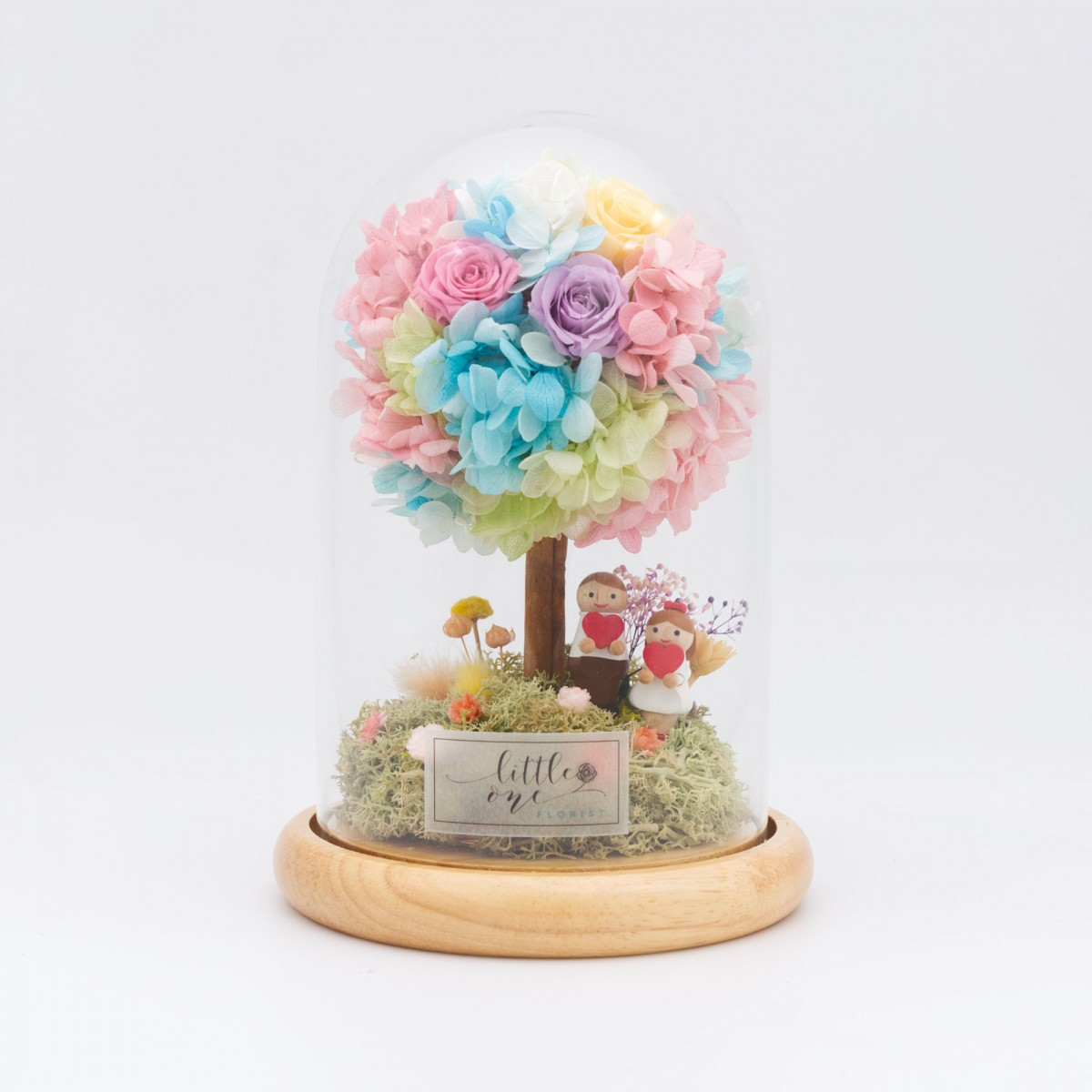 Glowing Little Tree Series - Little Couple Night Lamp
