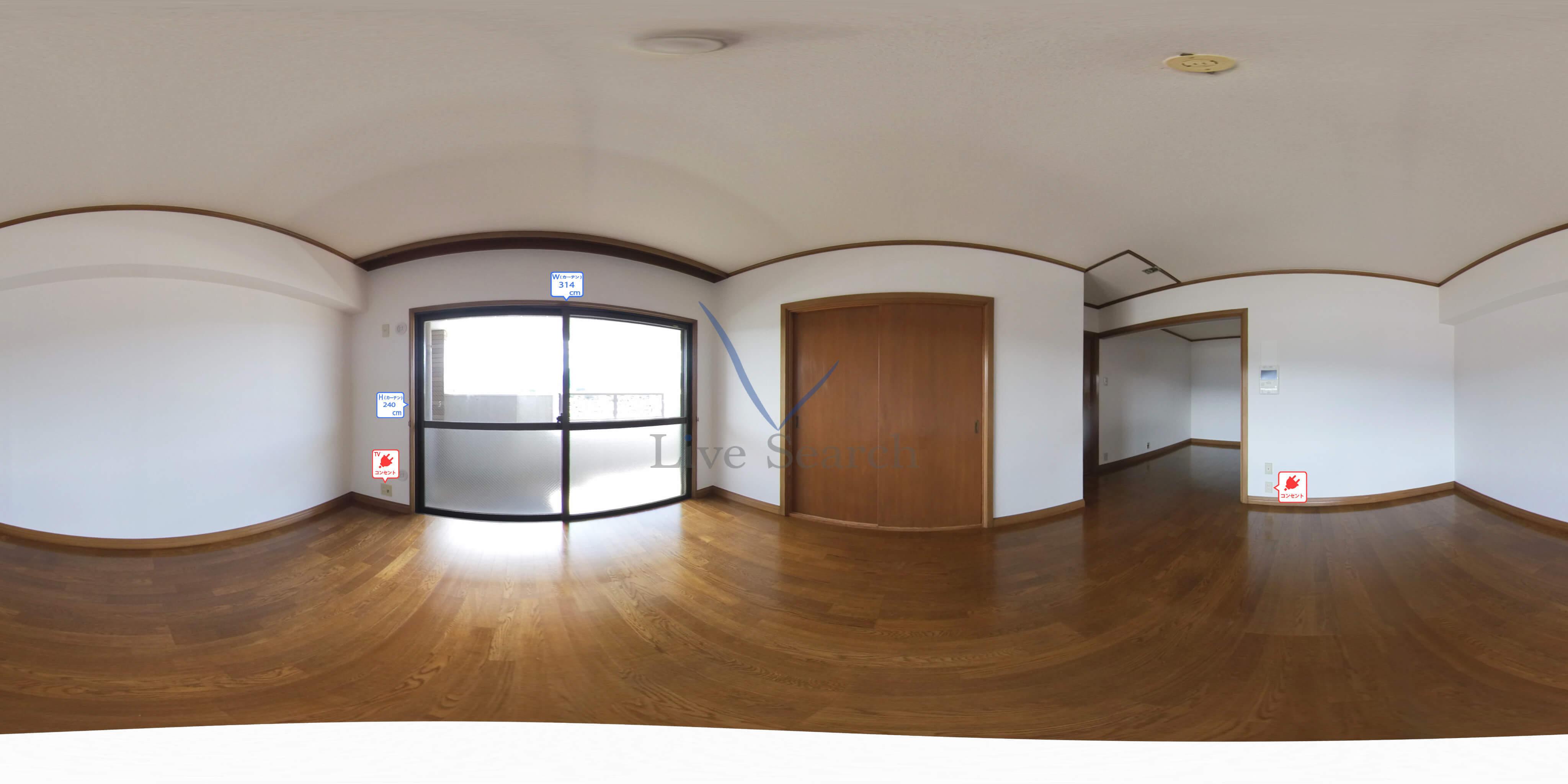 シャトー長丘 501 【南区高宮駅】 の外観写真
