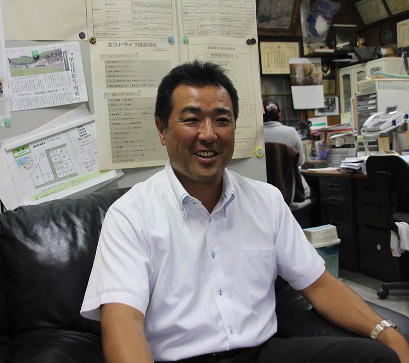 今後の事業構想を語る安田さん