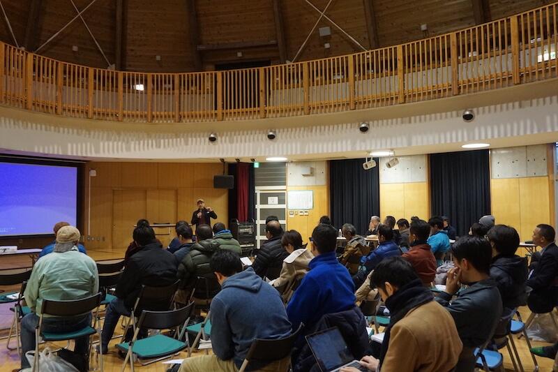 県内外から多くの参加があった「房総自伐型林業推進協議会設立イベント」