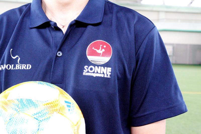 女子ビーチサッカーチーム「ゾンネ鴨川BS」のユニフォーム