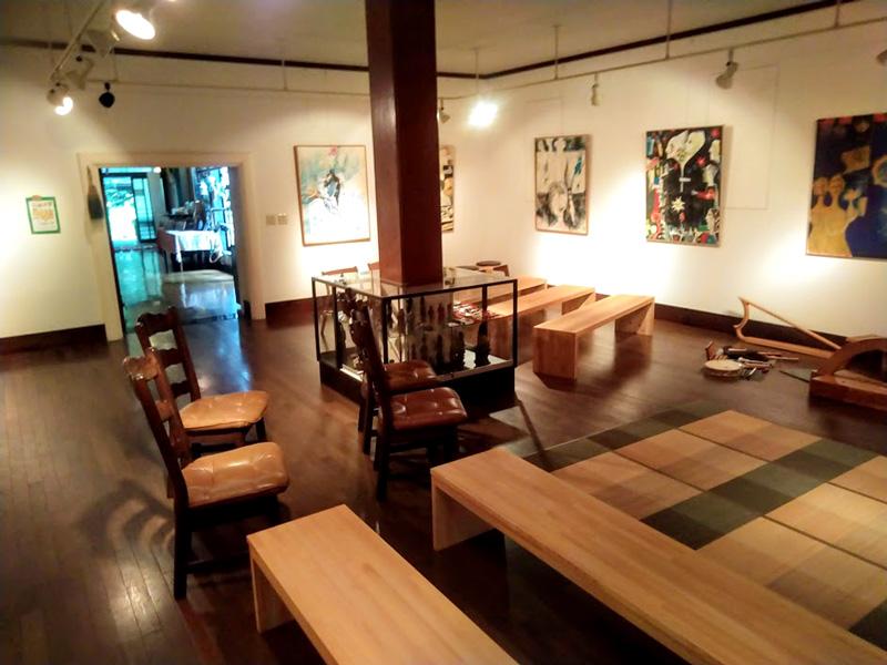 1689年(元禄2年)に建立した鶴岡市内の土蔵を移築して造られたギャラリー