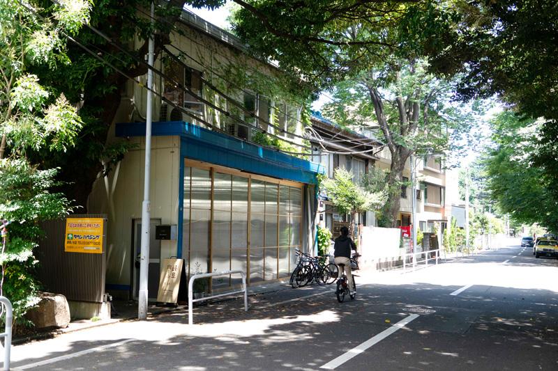 東京藝術大学のすぐ北側の物件の2階が岐阜ホール