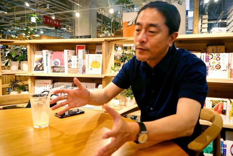 「みんなですすめる木づかいプロジェクト」のこれまでの取り組みを振り返る高田氏