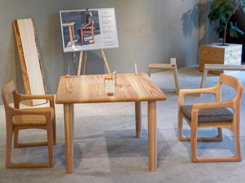 無印良品 シエスタハコダテにて開催された鳥倉氏による「くらcra Exhibition」