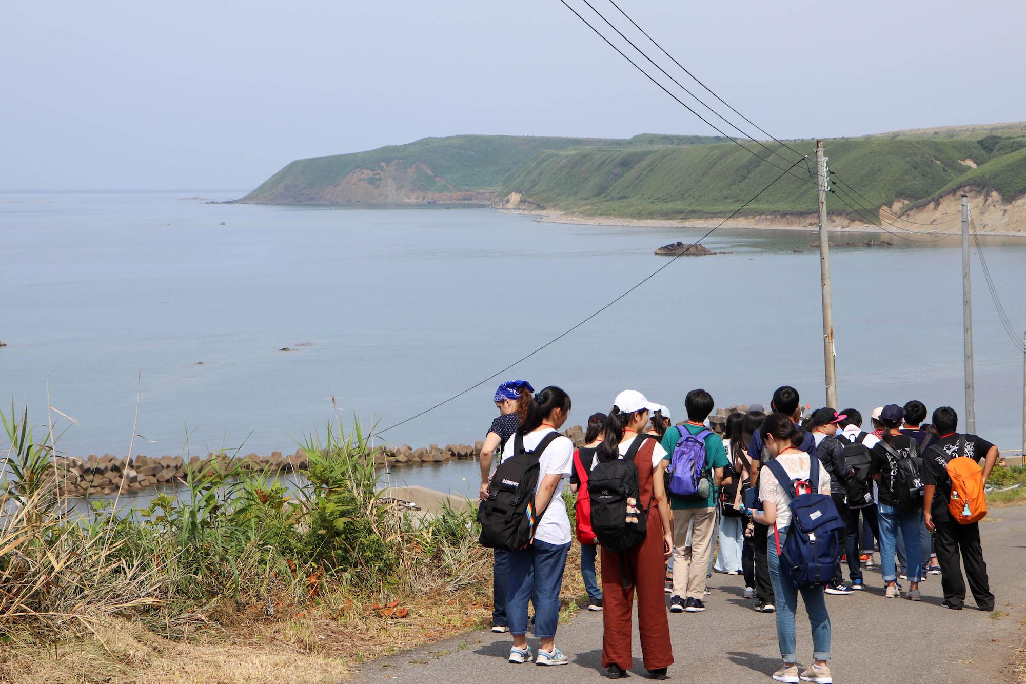 『世界津波の日』2019高校生サミットへ向け、奧尻島で学びを深める高校生たち