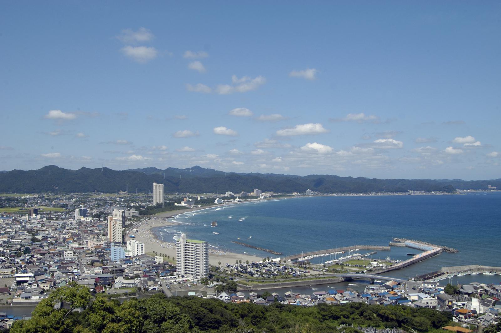 豊かな里海、里山を抱く鴨川は、保養シティと位置付けられる